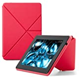 Amazon Origami PU-H�lle mit Standfunktion f�r Kindle Fire HD 7 (nur geeignet f�r den neuen Kindle Fire HD 7), Pink