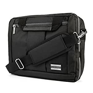 """VangoddyTM El Prado Collection 3 in 1 Backpack and Messenger Bag for Nokia Lumia 2520 10.1"""" Tablet  Black  available at Amazon for Rs.5583"""