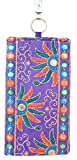 Purpledip Traditional Women's Mobile Pouch Multicolor(pouch01b)