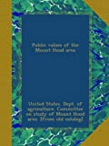 img - for Public values of the Mount Hood area book / textbook / text book