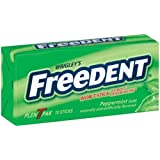 Freedent Peppermint Gum, 15-Stick Plen-T-Paks (Pack of 12)