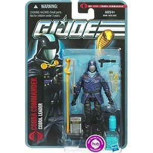 G.I. Joe Pursuit of Cobra 3 3/4 Inch Action Figure Cobra Commander