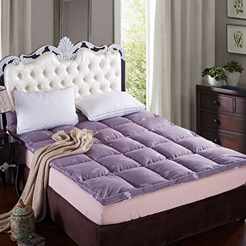 Holic Home Textile,Value Range 100% Polyester Shell With Duck Feather And Down Filled Mattress Topper[Twin],(Hbs-10-00040-01) front-419120