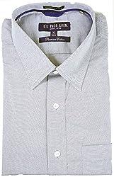 U.S.Polo.Assn. Men's Formal Shirt (Grey_46)