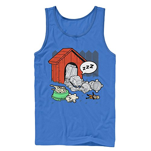 Star Wars AT-AT Doghouse Mens Graphic Tank Top - Fifth Sun