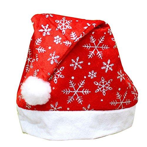 hsl-silber-schneeflocke-weihnachtsmutze-aus-filz-weihnachtsmutze-xmas-party-urlaub-zubehor