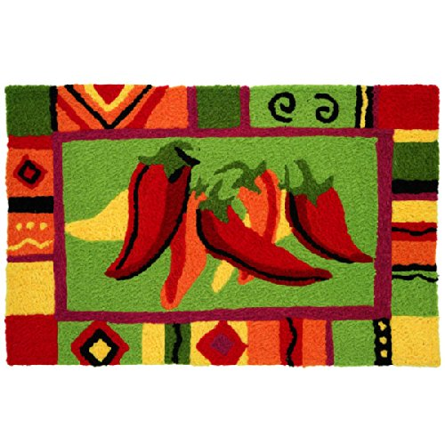 Red Chili Pepper Kitchen Rug