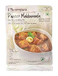 Parampara Ready To Cook Gravy - Paneer Makhanwala, 60g Pouch