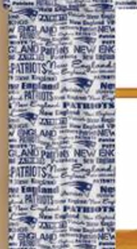 NFL New England Patriots Window Curtain Panels   Set Of 2 With Tie Backs