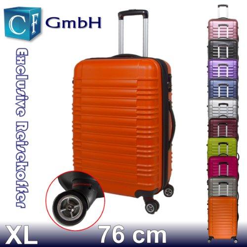LG2088 Orangen in Größe XL Koffer Reisekoffer