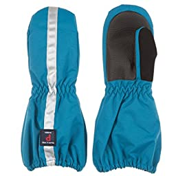 POLARN O. PYRET INSULATED CUFF MITTEN (BABY) - 1-2 years/Seaport