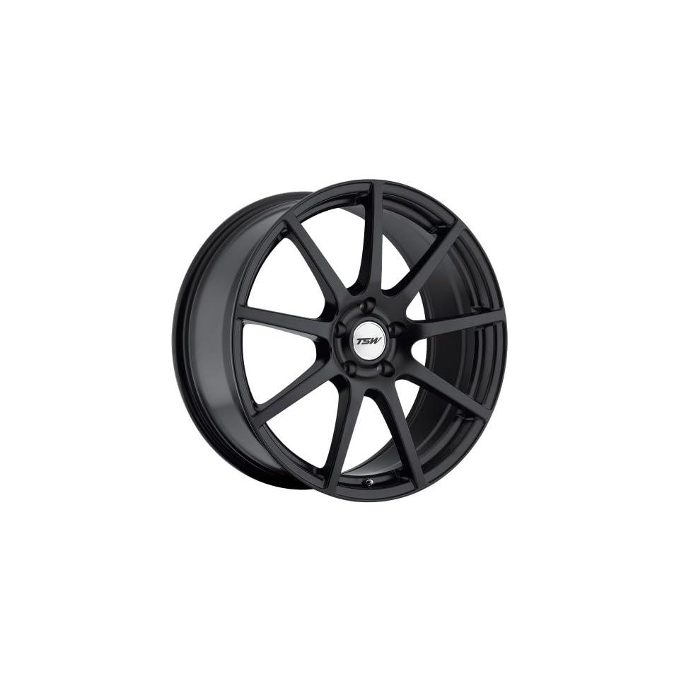 TSW Interlagos Matte Black Wheel (19x8.5/5x114.3mm)