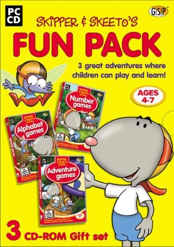 Skipper & Skeeto Triple Pack (Tales from Paradise Park, Alphabet Games, Number Games)