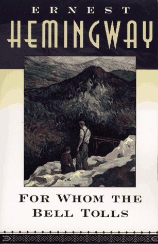 an analysis of masculinity in for whom the bell tolls by ernest hemingway Of ernest hemingway and tim o'brien  masculinity and femininity,  and then for whom the bell tolls and numerous short stories on my own.