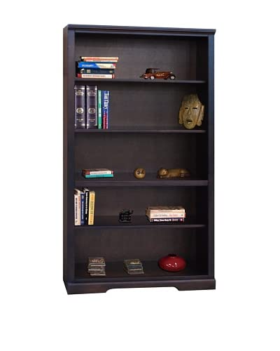 Legends Furniture Brentwood 72″ Bookcase, Danish Cherry