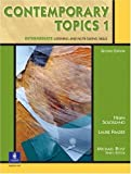 img - for Contemporary Topics 1, Second Edition (Student Book) book / textbook / text book