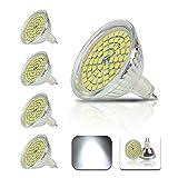 4個4W MR16 LEDランプが(45Wハロゲンランプを交換してください)450lm冷たい白は電球6000K 120°Abstrahwinkel、LED電球を率いて、LEDはAC / DC12Vは電球