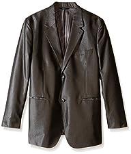 Perry Ellis Men's Big-Tall Big and Tall Irridecsent Twill Jacket