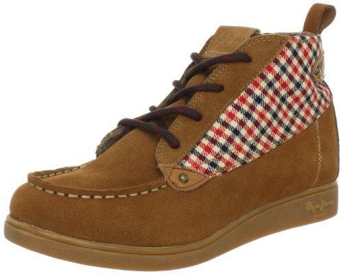 Pepe Jeans Women's Aldgate Cognac Ankle Boots PFS10570 6.5 UK