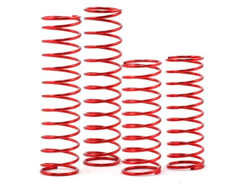 Racers Edge TU0231 Medium Spring Set F and R (4) RTR for Racers Edge 2WD Vehicles - 1
