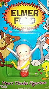 Elmer Fudd, Guardian Angel Action Figure - Looney Tunes Heart Throbs Figurines