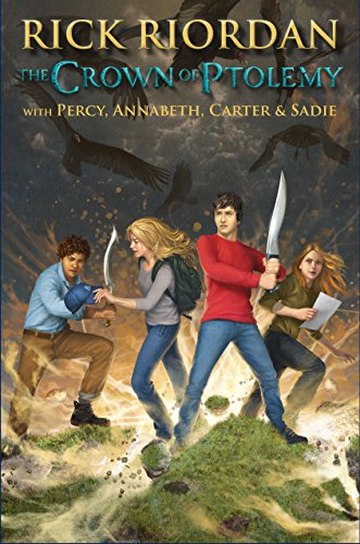 Told from Percy's point of view, this third demigod-magician crossover story has all of the spunk and action that Rick Riordan fans crave…  The Crown of Ptolemy (The Heroes of Olympus) by Rick Riordan