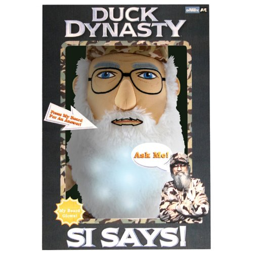 Duck Dynasty Si Says Interactive Plush Toy - 1