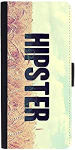 Snoogg Hipster Picsty Designer Protective Flip Case Cover For Sony Xperia Z3