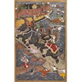Akbar's Adventures with the Elephant Hawai in 1561 (V&A Custom Print)