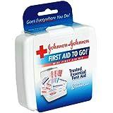 Johnson & Johnson First Aid To Go Mini First Aid Kit