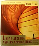 Instructors Edition to Linear Algebra and Its Applications 2e (0201824795) by David C. Lay