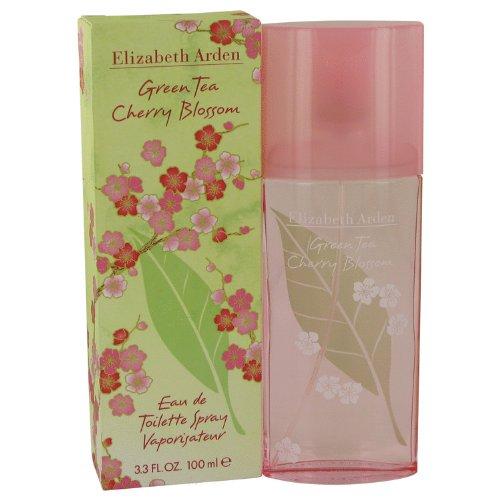 Green Tea Cherry Blossom By Elizabeth Arden Eau De Toilette Spray 3.3 Oz For Women
