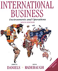 daniels international business 13e International business, global edition [daniels] on amazoncom free shipping on qualifying offers title: international business author: daniel sullivan, lee.