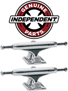 Buy INDEPENDENT Skateboard Trucks 129mm Silver Raw STAGE 11 7.75 in PAIR (2 trucks) by Independent Trucks