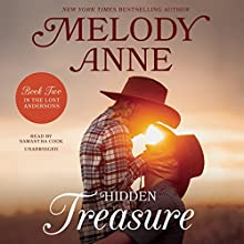 Hidden Treasure: The Lost Andersons, Book 2 Audiobook by Melody Anne Narrated by Samantha Cook