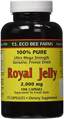 YS-Eco-Bee-Farms-Royal-Jelly-2000-mg-75-capsules