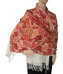 Matelco Pashmina Stole With Heavy Embroidery