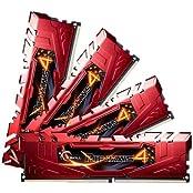 G.SKILL Ripjaws 4 Series 16GB 4 X 4GB 288-Pin DDR4 SDRAM 2133 PC4-17000 Desktop Memory Model F4-2133C15Q-16GRR