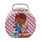 Disney Doc McStuffins Semi-round Shaped Metal Tin Carrying Case - Lunch Box, Storage