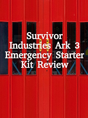 Review: Survivor Industries Art 3 Emergency Starter Kit Review on Amazon Prime Video UK
