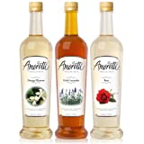 Amoretti Premium Syrups Floral 3 Pack