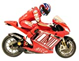 519TMUdkzBL. SL160  1:12 Ducati Desmosedici Silverlit RTR Electric RC Remote Control Motorcycle (Color May Vary)