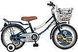 ジェフリーズ 子供自転車 Morris 16インチ 補助輪/リアキャリア付 Traflgar Blue(トラファルガーブルー)