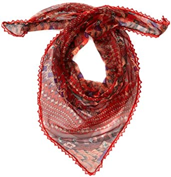 LERROS Women's Scarf -  Red - Rot (AURORA 382) - One size