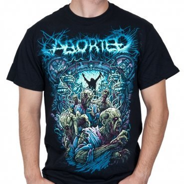 Aborted - Uomo Demon T-Shirt in Nero, Large, Nero