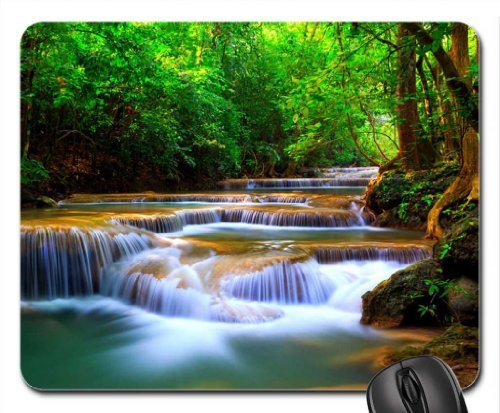Cascades Mouse Pad, Mousepad (Waterfalls Mouse Pad)