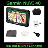 Garmin nuvi 40 4.3-inch Portable GPS Navigator with Sakar iConcepts GPS-600 GPS 6 Piece Starter Kit