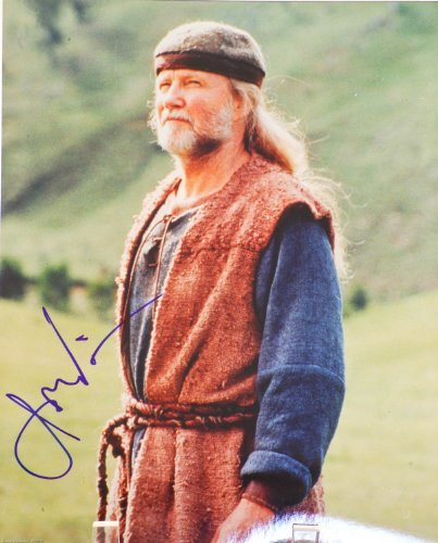 Jon Voight In-Person Autographed 8X10 Color Photograph - Signed In Blue Sharpie - From Tv Film Noah'S Ark - Films: Transformers / Holes / National Treasure / Pearl Harbor / Midnight Cowboy - Rare - Collectible front-1026894