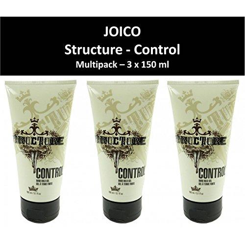 Joico - Struttura - controllo - Gel dei capelli - forte presa - Styling - Quantità di ordine: 3 x 150 ml