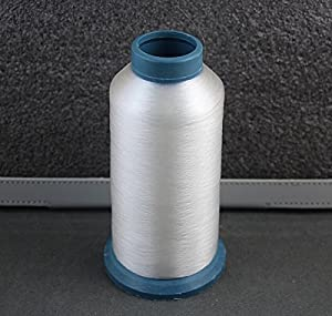 Amazon Com 1 Spool 4380 Yards 0 1mm Clear White Quilter S